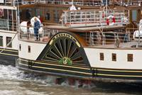 The Waverley Paddle Steamer Paddles