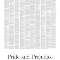 """Pride and Prejudice by Jane Austen"" by booksonposter"