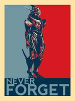 Mass Effect 3 - Marauder Shields - Never Forget