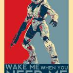 """Halo 3 - Wake Me if You Need Me"" by FlgStudios"