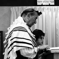 Boy with Rabbi