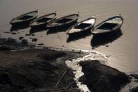 Boats in the Ganges