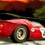 """""""Ferrari 330 P"""" by ArtbySachse"""
