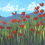 """Mountain Poppies"" by DreamGallery"