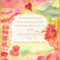 Jesus Loves the Little Children Art Prints & Posters by Pamela and Kathy Perrin