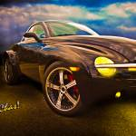 """Chevy SSR Night Life Hot Rods Live Life in the Sha"" by chassinklier"