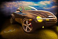 Chevy SSR Night Life Hot Rods Live Life in the Sha
