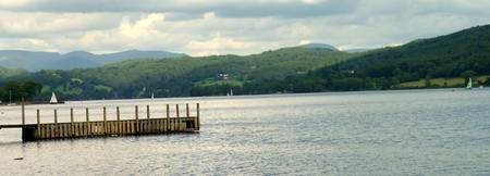 Coniston Water- Panoramic Shot