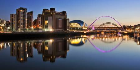 River Tyne Panorama