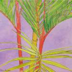 """palm study"" by hitchcock"