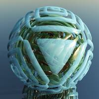Virtual Glass Sphere XV