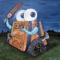 Battle Bot Art Prints & Posters by Shine Darlington