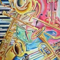 Instrumental Art Prints & Posters by Rick Borstelman