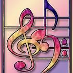 """Music Symbols 2"" by RickBorstelman"