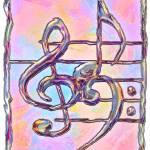 """Music Symbols 3"" by RickBorstelman"