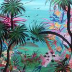 """Black Palms"" by KAHALA-ART"