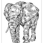 """""Elephant Spirit"" version1  - surreal totem animal"" by LeahMcNeir"