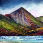 """""""Croagh Patrick, County Mayo"""" by artnotnames"""