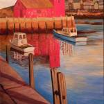 """Rockport Harbor"" by ShackPaintings"
