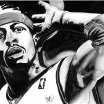 """Allen Iverson"" by NateWilliams"