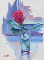 The Rose on The Window-Sill-II