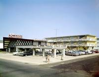 Satellite Motel 1960's Photograph Wildwood, New Je