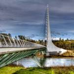 """Sundial Bridge, Redding CA"" by VHarris"