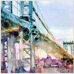 """Bridge in Brooklyn"" by dfrdesign"