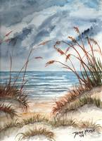 dunes seascape beach print