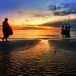 """The monk Huahin Thailand"" by kapuk"
