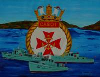 HMCS CABOT tenders