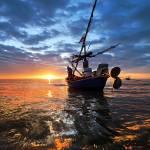"""""""boat huahin thailand"""" by kapuk"""