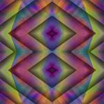 """Double Diamond (21st Century Op-Art Set)"" by FrankBonilla"
