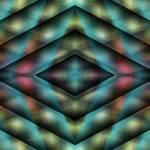 """Diamond Cone (21st Century Op-Art Set)"" by FrankBonilla"