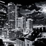 """Miami Bay at Night"" by rapatel"