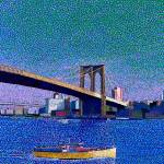 """Brooklyn Bridge New York"" by 1004art"