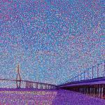 """Incheon Bridge"" by 1004art"