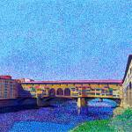"""Ponte Vecchio Firenze Italy"" by 1004art"