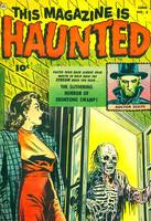 Haunted Comic Book Cover
