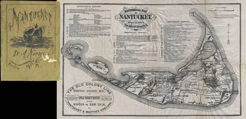 Vintage Map of Nantucket Island (1889)