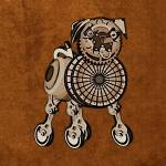 """Steampunk Pug"" by maryostudio"