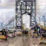 """George Washington Bridge"" by dfrdesign"