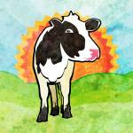 """Dairy Cow"" by maryostudio"
