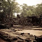 """Angkor Thom Ruins"" by RaymondLee"