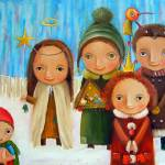 """Carolers"" by Monica-Blatton"