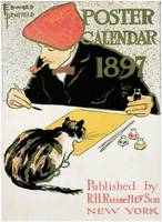 Poster Calendar by Edward Penfield