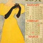 """January, February, March by Edward Penfield"" by ArtLoversOnline"