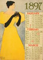 January, February, March by Edward Penfield