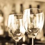 """Wine Glasses in Soft Antique Light"" by Amberwatsonwilliams"