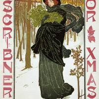 """Scribners for Christmas by Louis John Rhead"" by ArtLoversOnline"